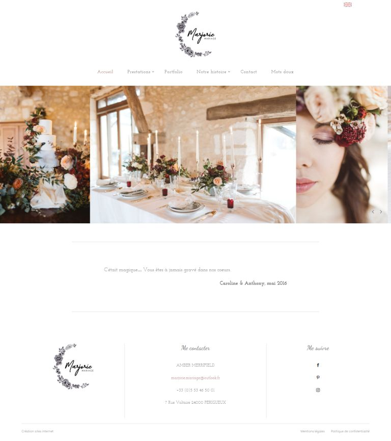 Wedding planner en Dordogne